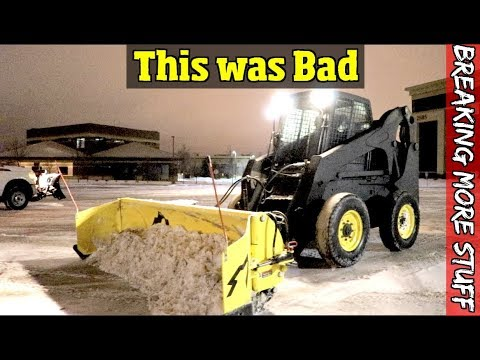 We totaled out our new equipment & it was my fault... The da