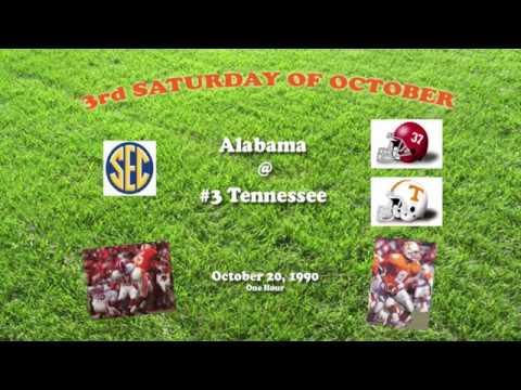 1990 Alabama @ Tennessee One Hour