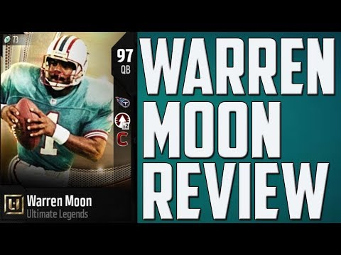 How Good is 97 Overall Warren Moon? MUT 18 Card Review