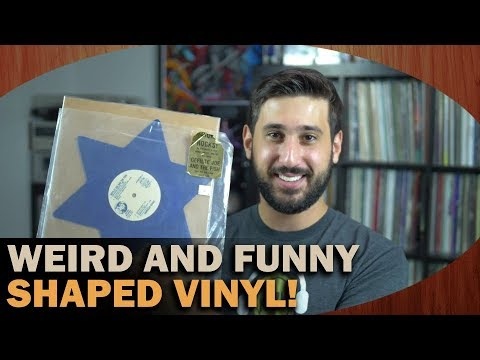 WEIRDEST and FUNNIEST Shaped Vinyl Picture Disks