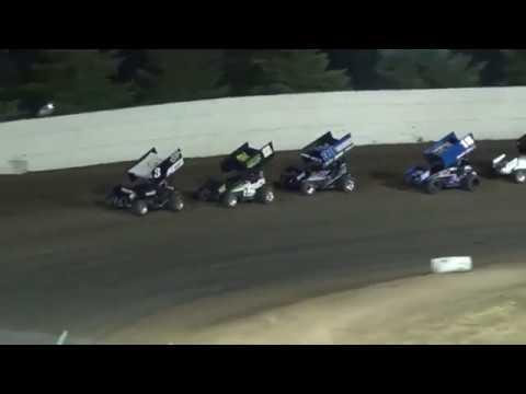 Grays Harbor Raceway, June 2, 2018, Summer Thunder Sprint Series A-Main