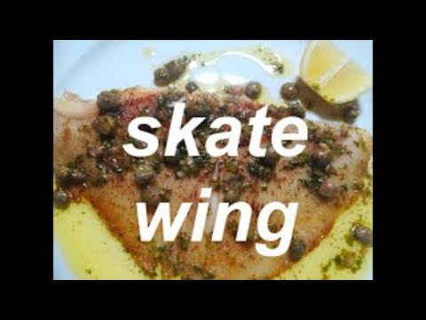 Pan Fried Skate Wing With A Brown Butter And Caper Sauce