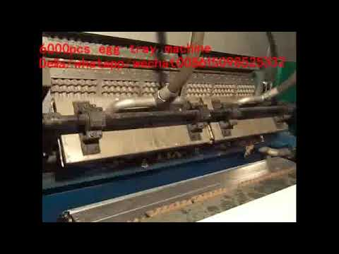Paper Pulp Moulding Egg Tray Machine