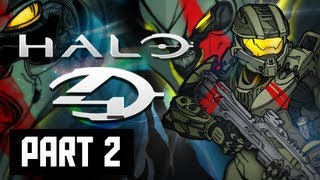 Halo 4 Walkthrough - Part 2 Campaign Requiem XBOX 360 Let's Play Gameplay Commentary