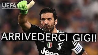 FAREWELL BUFFON! Five great saves from one of the all-time greats