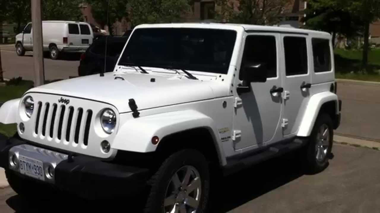 2014 Jeep Wrangler Sahara Unlimited Startup Engine  U0026 In Depth Tour