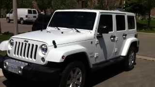2014 Jeep Wrangler Sahara Unlimited Startup Engine & In Depth Tour