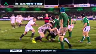 Irish Rugby TV: O2 Ireland Wolfhounds v England Saxons Highlights