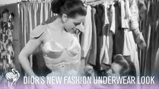 Dior's New Look Underwear of 1948