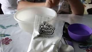 як зробити тарілку з гіпсу своїми руками