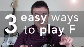 F Guitar Chords F๐r Beginners