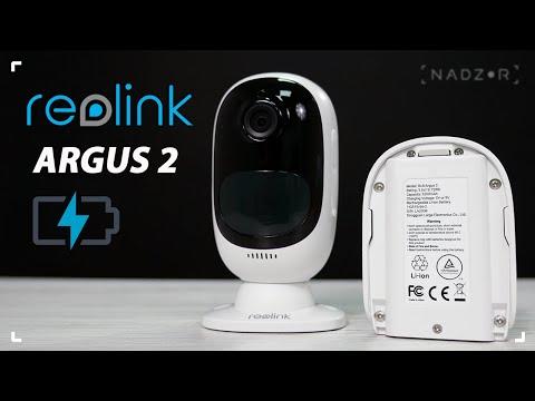 Автономная аккумуляторная IP Камера Reolink Argus 2 с подключением по WI-FI