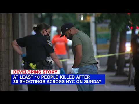 11 killed during violent weekend in New York City