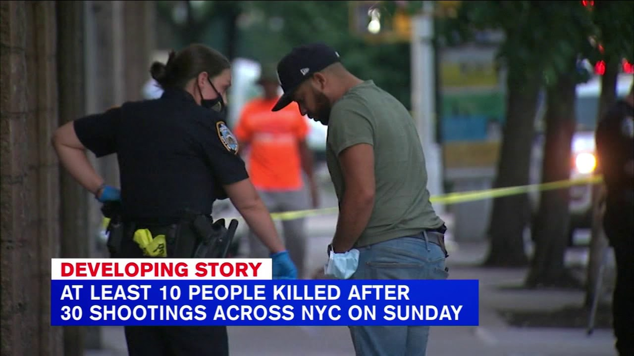 11 killed during violent weekend in New York City - YouTube