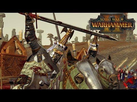 GRAIL COMPANIONS - Bretonnia vs High Elves // Total War: Warhammer II Online Battle