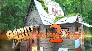 DIY - How to Make: GRAVITY FALLS  Mystery Shack Part 2 - EXTREME - Handmade - Crafts - Disney - XD