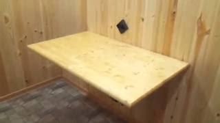Откидной стол #своими руками . Table