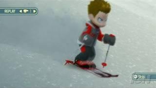 We Ski Nintendo Wii Gameplay - Snow Covered Road