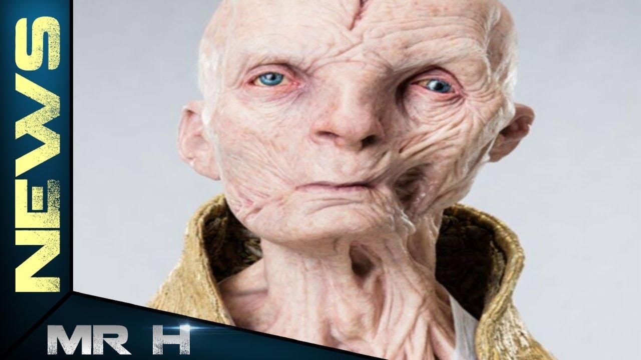 The Last Jedi SNOKE SCENE - Explained