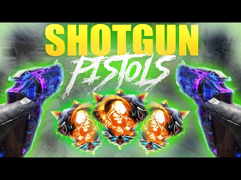 SHOTGUN PISTOLS! - Marshal 16 Nuclear [PC] - (Black Ops 3 Nuclear With Every Gun)