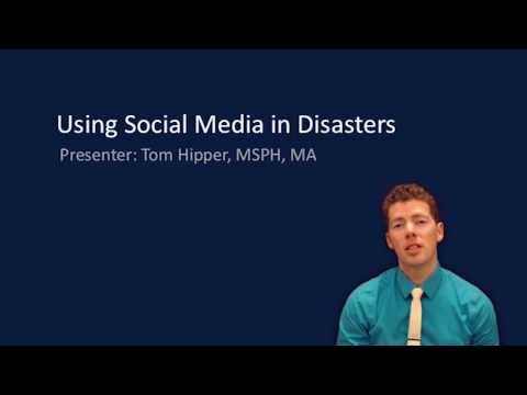 Using Social Media in Disasters