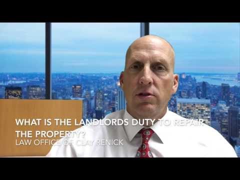 What is a California Landlord's Duty to Repair Property?