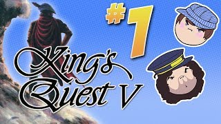 King's Quest V: A Poisonous Snake - PART 1 - Steam Train