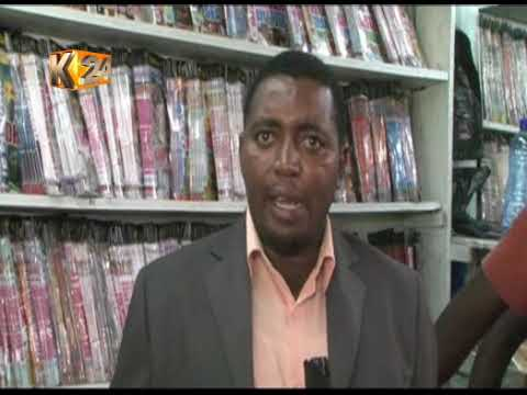 KFCB raids traders selling pirated, unrated movies in Mombasa