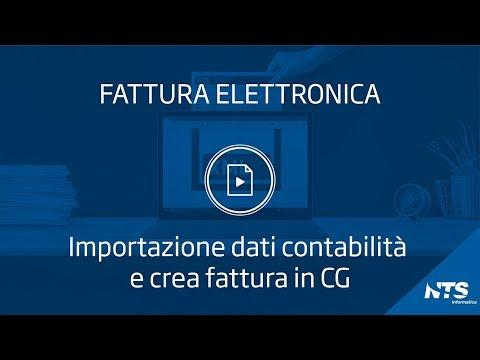 Consolle: menù fatture ricevute-GSE - Importazione dati contabilità e Crea fattura in CG (F)