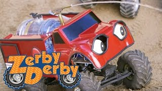 Video Zerby Derby - BIG ROCK | Zerby Derby Full Episodes Season 1 | Kids Cars download MP3, 3GP, MP4, WEBM, AVI, FLV November 2018