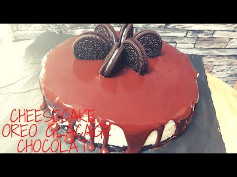 cheesecake-oreo-avec-glaÇage-chocolat-facile-et-sans-cuisson