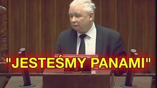 PiS to partia PANÓW. Polacy to GORSZY SORT .