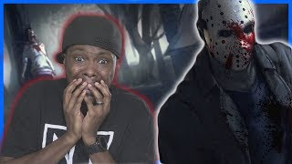 SCREAMING LIKE A GIRL! NOWHERE TO RUN! Friday The 13th Gameplay Ep.1