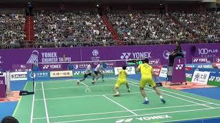 20181006Taipei Open SF MD CHEN Hung Ling+WANG Chi-Lin(TPE) vs Bodin ISARA+Maneepong JONGJIT(Thai)2-2