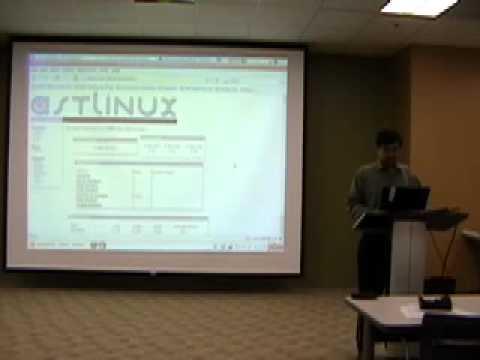 Sameer Verma (VoIP using Asterisk) at PenLUG, Jun 2007