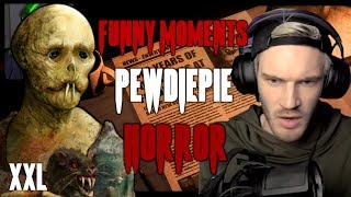 PewDiePie - Funny & Scary Horror Games Moments (XXL | 2016 - 2018)