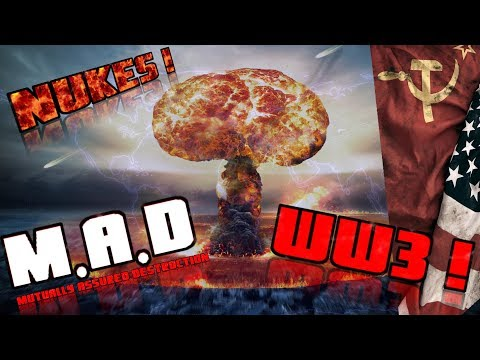 WW3 Simulator ! USA vs USSR- Defcon - M.A.D mutually assured destruction!