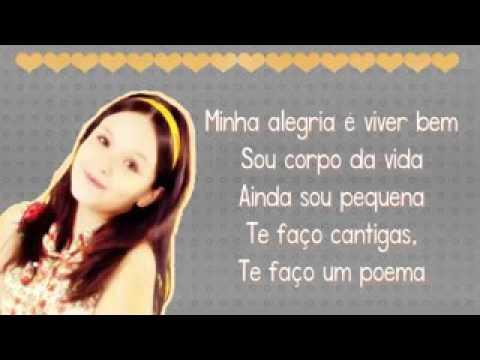 bd72ba1881326 Música da Larissa manoela Sou menina com letra - YouTube