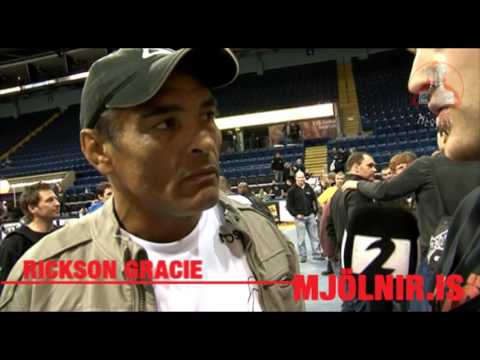 Interview with Rickson Gracie about Gunnar Nelson (2011)