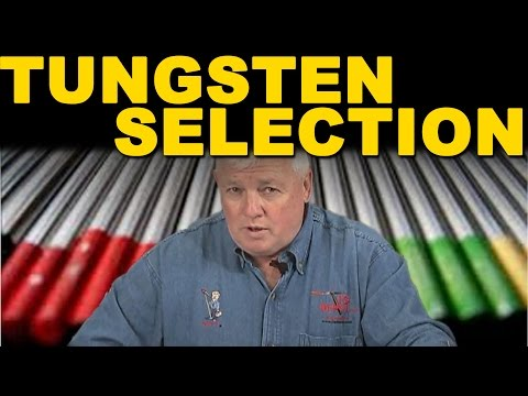 🔥 TIG Welding Tungsten Selection | TIG Time