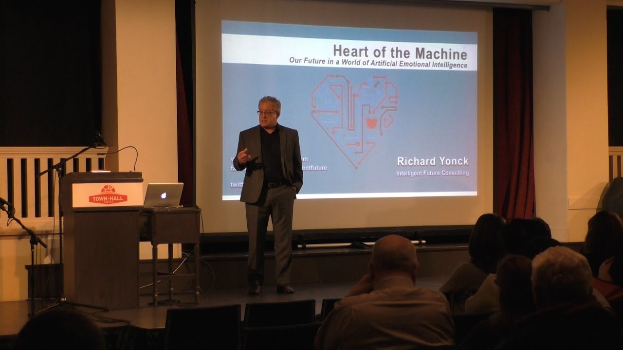 Heart of the Machine Book Launch – Town Hall Seattle - YouTube
