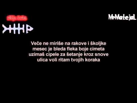 Riblja Čorba  Kad Hodaš Tekst HD