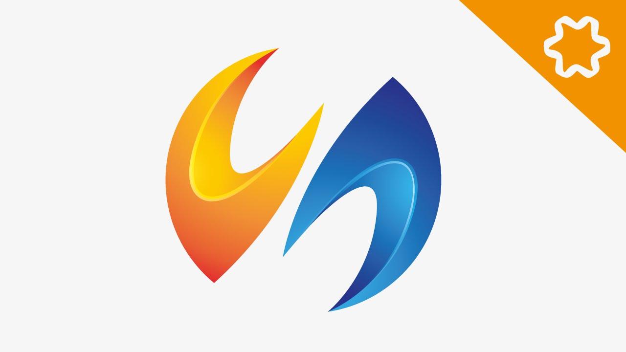 adobe illustrator 3d logo design tutorial letter logo