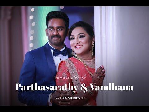 EDEN STUDIOS | the beautiful grand wedding tale of Parthasarathy + Vandhana :)