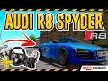 AUDI R8 SPYDER  ''ESSE É CHAVE MANO'' - City Car Driving + G27