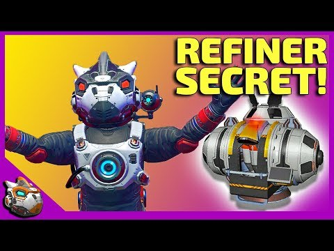 How To Use A Large Refiner Like A Pro | No Man's Sky 2019