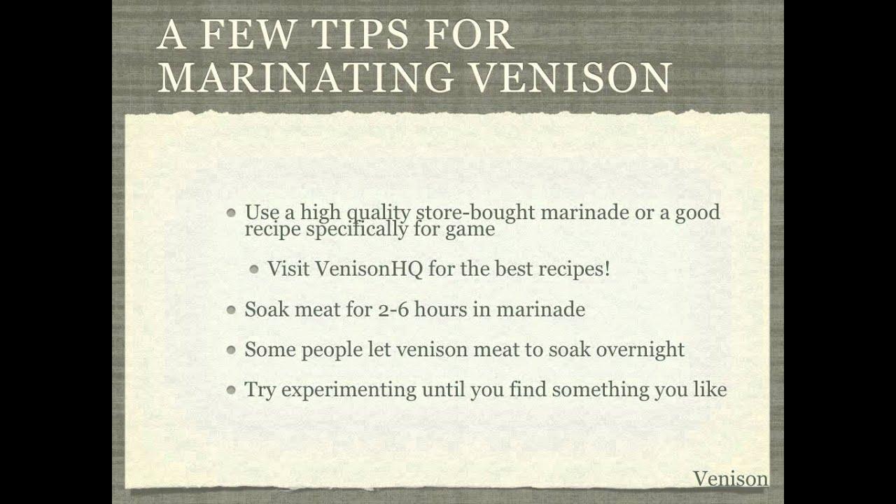 recipe: venison steak marinade [32]