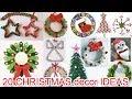 20 CHRISTMAS decor IDEAS Ana | DIY Crafts