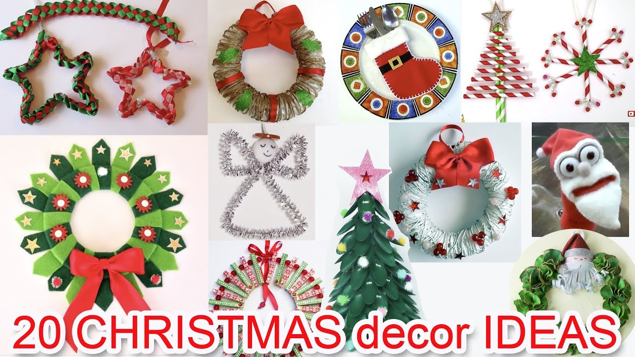20 Christmas Ornaments Ideas Ana Diy Crafts Youtube