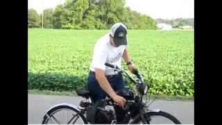 Motorized Bicycle - Belt Driven - Completed - update video